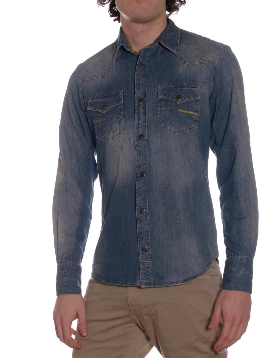 Camicia Jeans Meltin Pot Carey