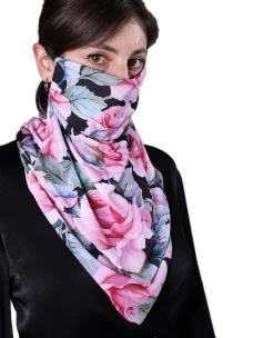 Mascherine Donna NIQAB con sciarpa per il collo. 2 Pezzi