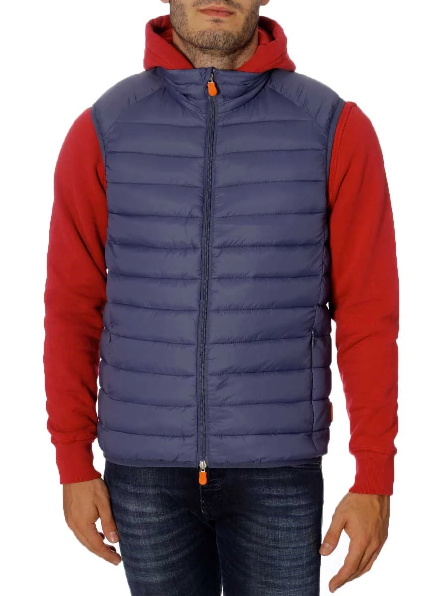 Gilet Save The Duck  Imbottito in Plumtech D8241M