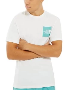 T-Shirt The North Face  Regular NF00CEQ5P-A01 Puro Cotone