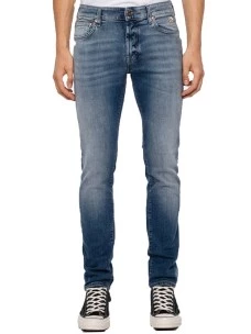 Jeans Roy Roger's Smart 517 Man Denim Strecth  Made in Italy