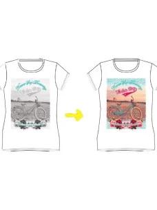 T-Shirt Whale's Bay SEABIKE-KID Cambia Colore al Sole