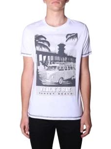 T-Shirt Whale's Bay Uomo TRANSPORTER Cambia Colore al Sole
