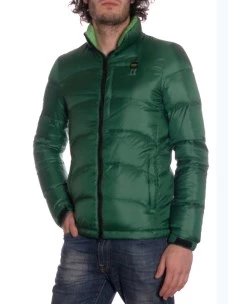 Piumino Blauer in Piuma d'oca colore Verde
