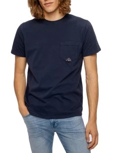T-Shirt Roy Roger's Poket Man100% Cotone Made in Italy