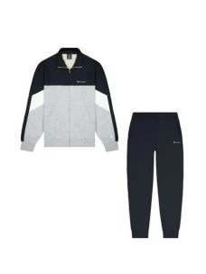 CHAMPION FULL ZIP SUIT TUTA UOMO FELPA+PANTALONE IN GARZATO