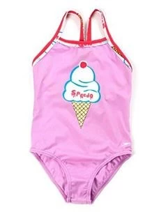 SPEEDO COSTUME LITTLE GIRLS MOD.SIERRA CANDYSHOP PL 1PC IF
