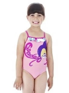 SPEEDO COSTUME LITTLE GIRLS MOD. GENY FRILL 1PCE IF
