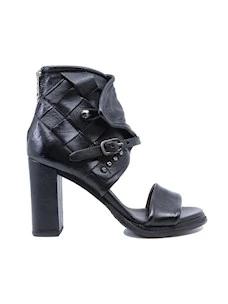 A.S. 98 589031  sandalo da donna in pelle nera
