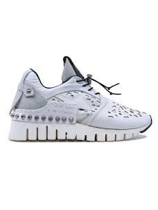 A.S. 98 647126 sneaker da donna in pelle bianca