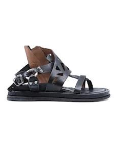 A.S. 98 699038 sandalo da donna in pelle nera