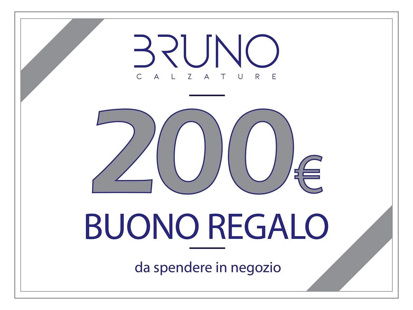 BUONO REGALO DA 200,00 €