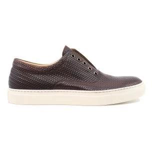 Seboy's 15740/O brown leather men's sneaker