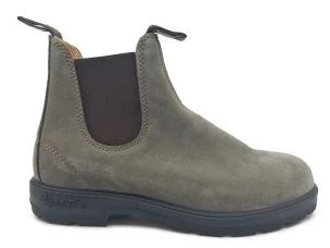 BLUNDSTONE 552 SUEDE ANKLE BOOT WITH SIDE ELASTIC