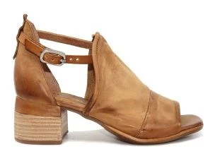 A.S. 98 A19002 TIGER LOW SANDAL FOR WOMEN'S LEATHER