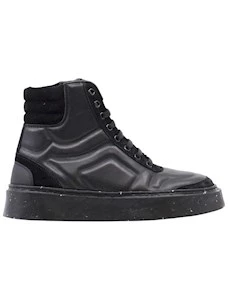 OA non-fashon A55 Women's sneaker in black leather