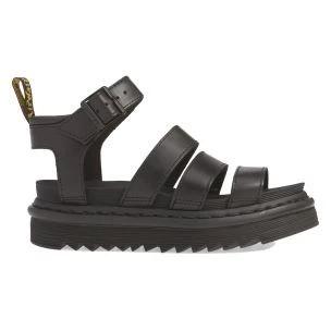 Dr. Martens Blaire Women's Sandal in Black Leather