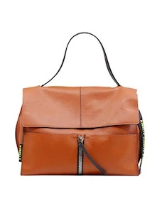Rebelle Clio Satchel Women's leather leather bag