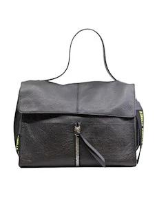 Rebelle Clio Satchel Women's bag in black leather