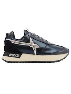 W6YZ Wizz Kis-W women's sneaker in black leather