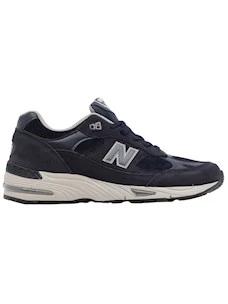 New Balance M991NPN men's sneakers in blue nubuck