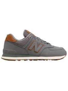 New Balance ML574NBA men's sneakers in grey nubuck